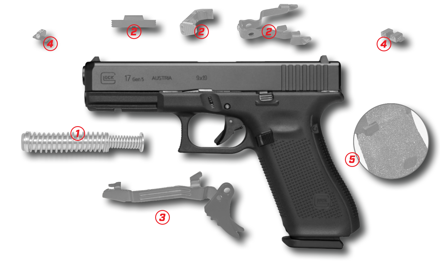 Lenny Magill's Top 5 Upgrades for your Glock!