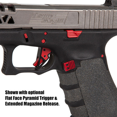 Metallic Pin Extended Controls Kit For Glocks Best Glock