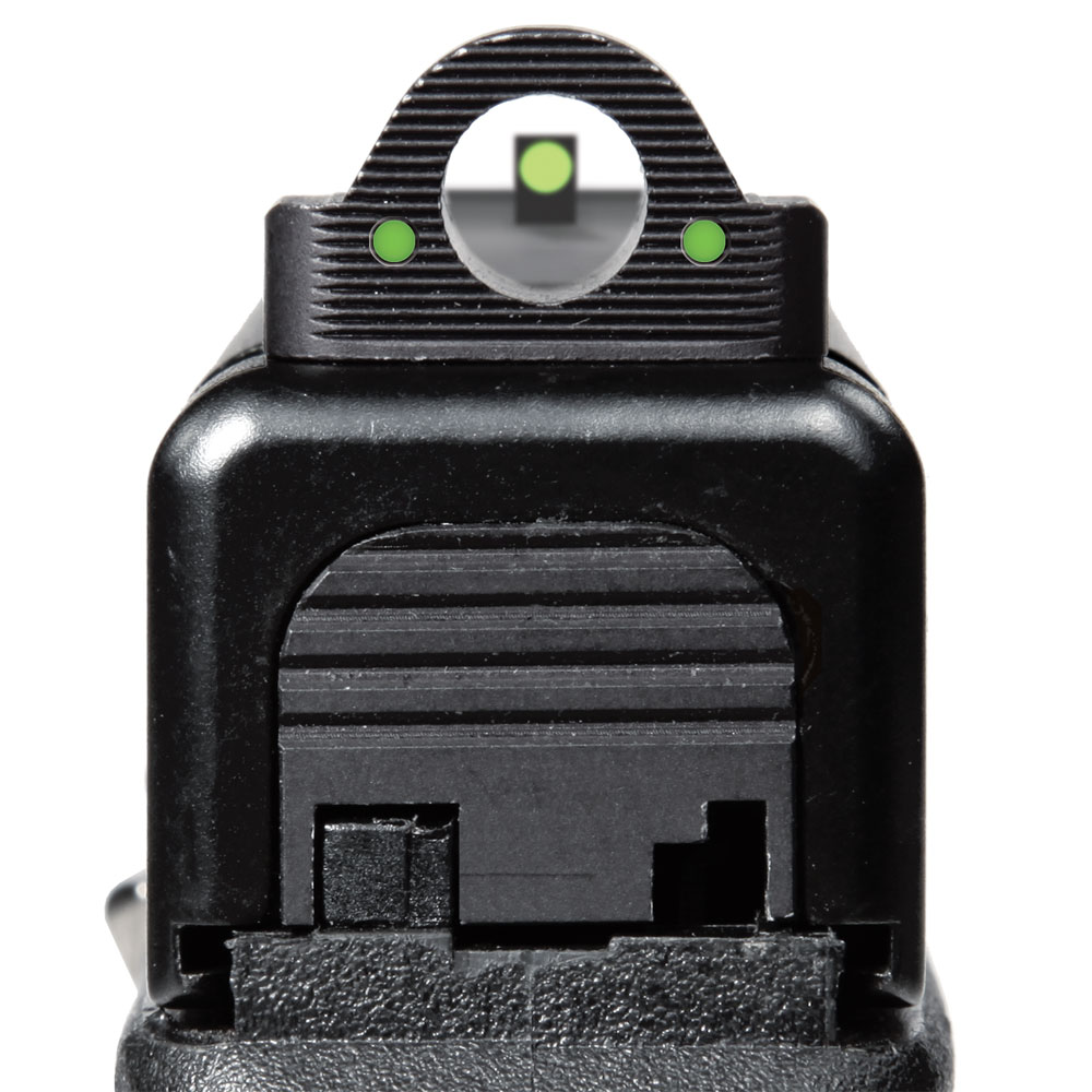 how to use ghost ring sights