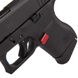 Checkered Extended Mag Catch for G43