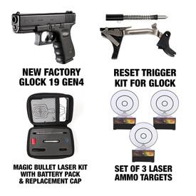 Complete Dry Fire Practice Kit - G19 Gen4 + 3 Targets