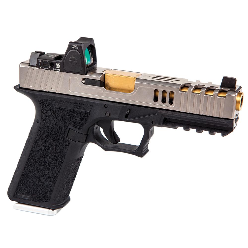 Polymer80 V2 Textured Full Size Lower   Best Glock