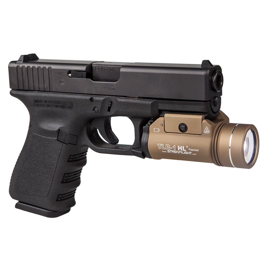 High Quality Streamlight TLR 1 HL High Lumen Tactical Light Awesome Design