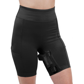Womens Concealed Carry Thigh Holster Shorts Best Glock Accessories